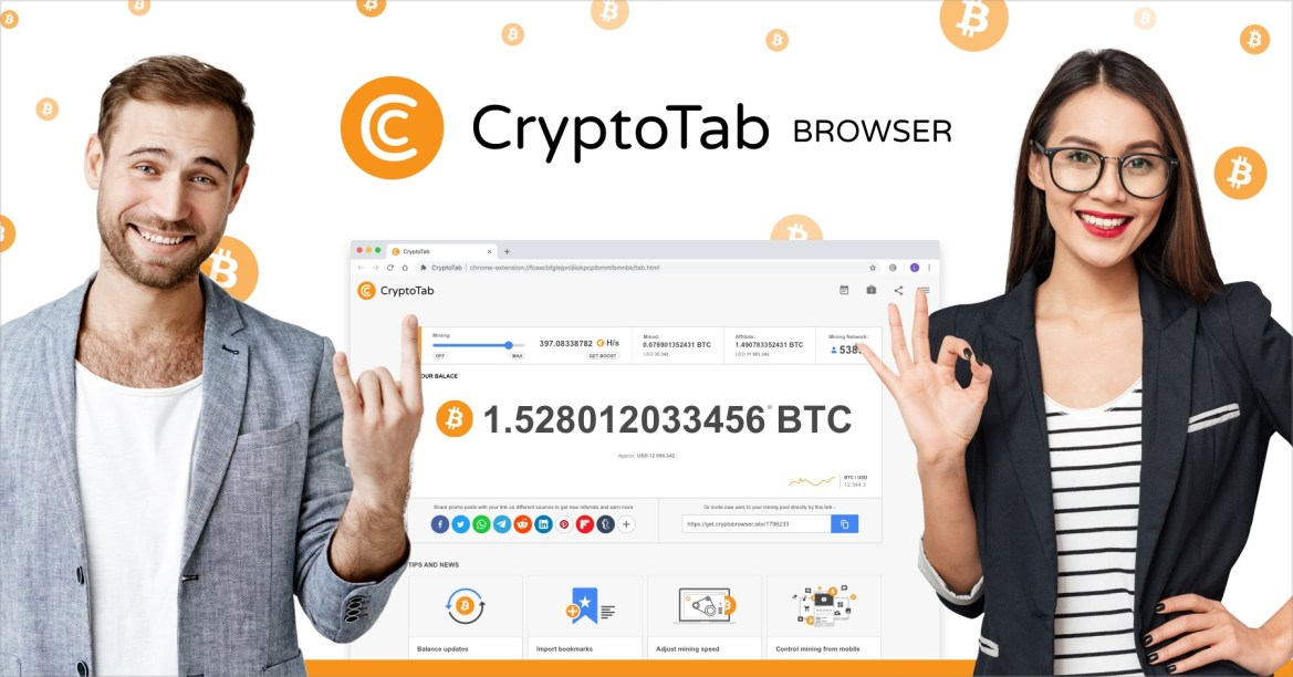How to make free BTC surfing the Net Cryptotab