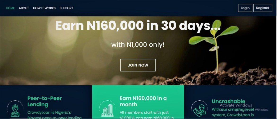 How to generate N160000 with just N1000 monthly – Crowdyloan