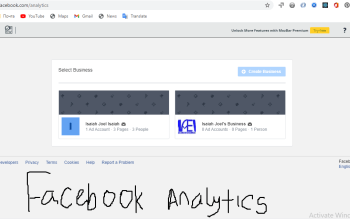 Facebook analytics is going off what next?