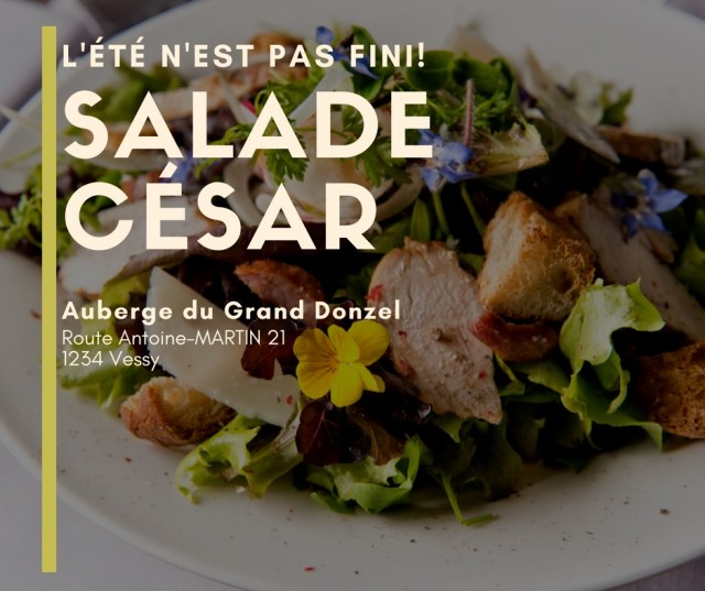 Visuel Auberge du grand Donzel page Facebook