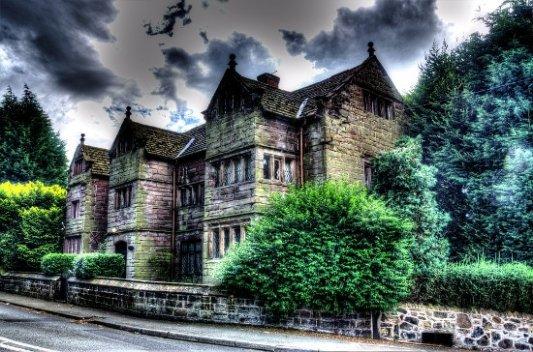 Casa victoriana.