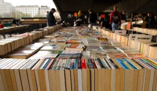 Un mercado de libros en Londres