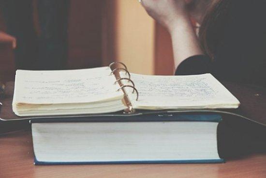 tomar notas para escribir un libro