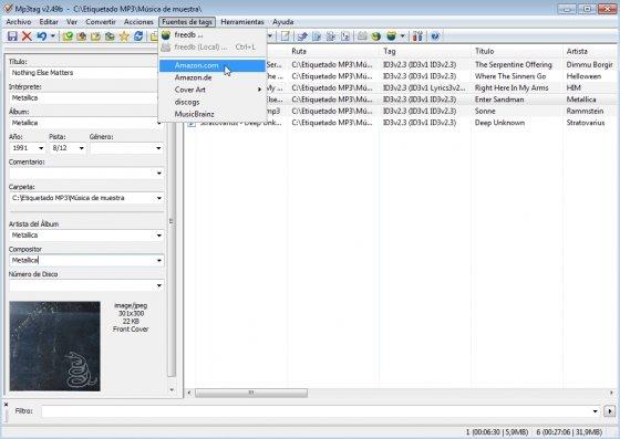 Etiquetado de MP3 con MP3Tag