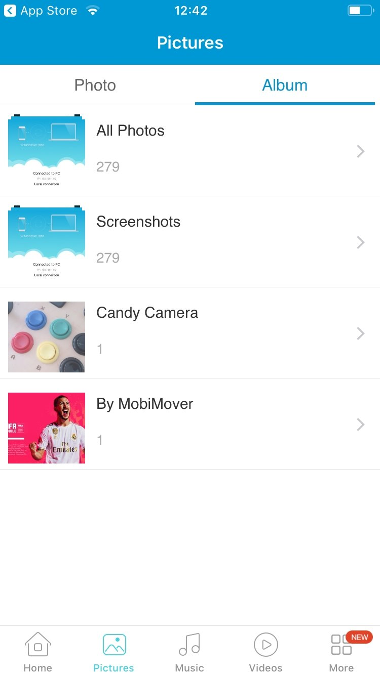 AirMore - Download for iPhone Free
