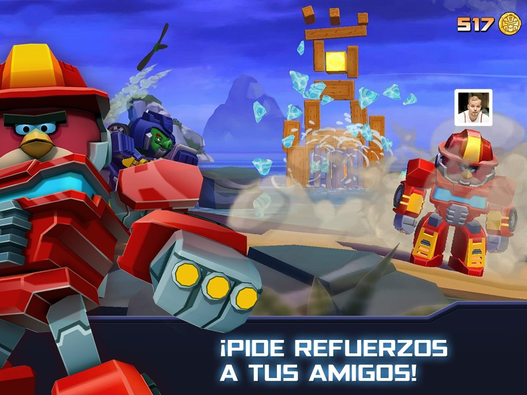 Angry Birds Transformers 2 6 0 Download For Android Apk Free