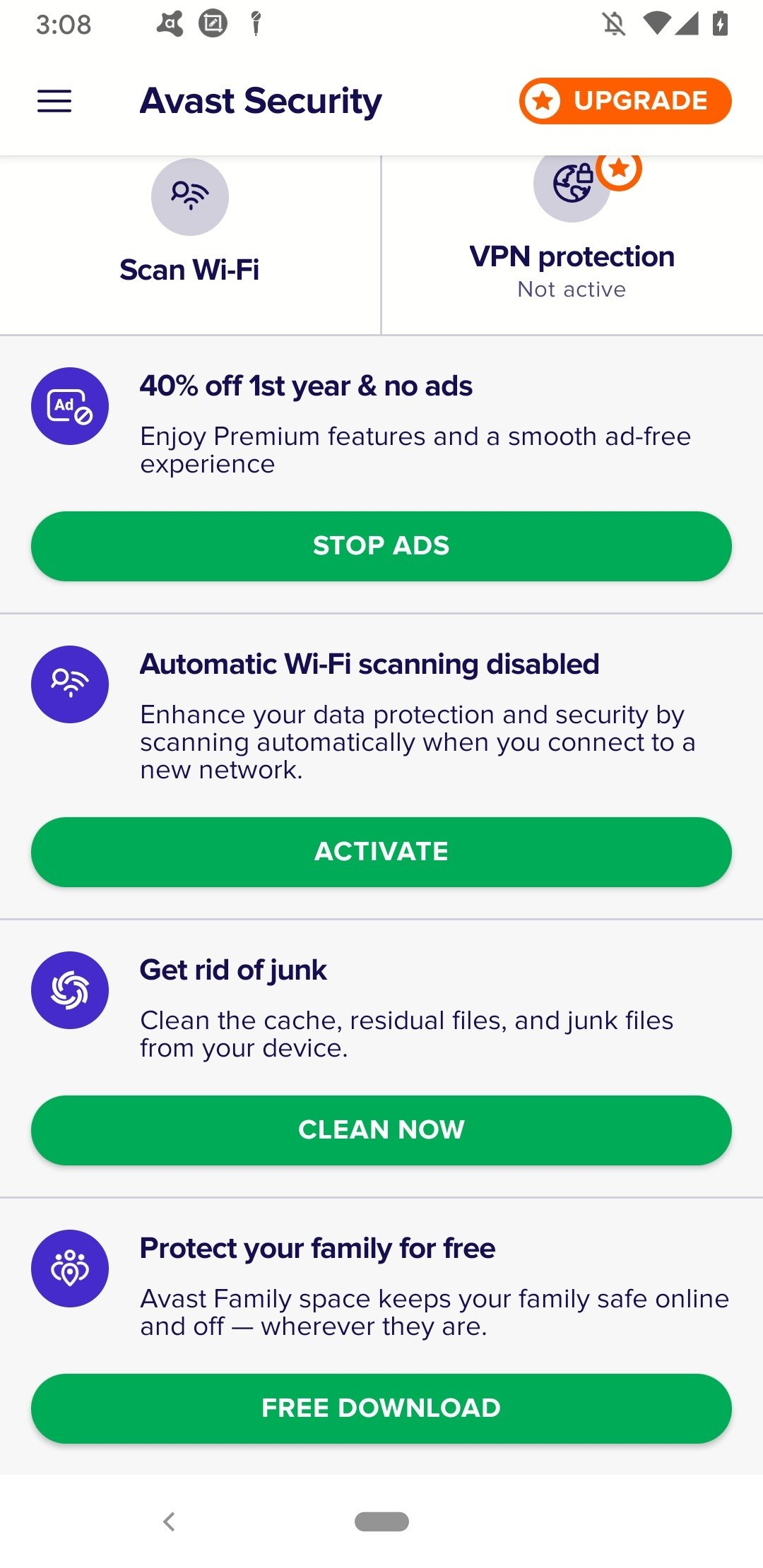 Avast Free Mobile Security Download