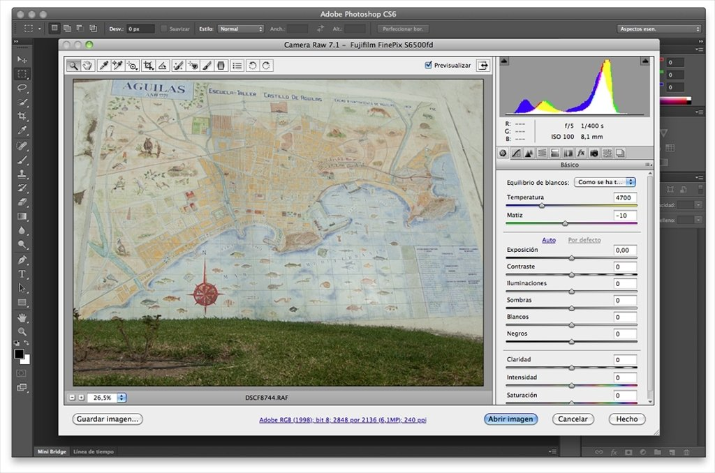Camera Raw 7.1 Update - Download for Mac Free