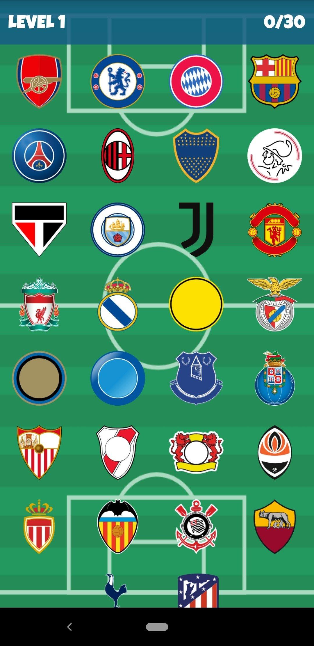 Jeux De Logo De Foot : Football, Clubs, 1.4.38, Télécharger, Android, Gratuitement