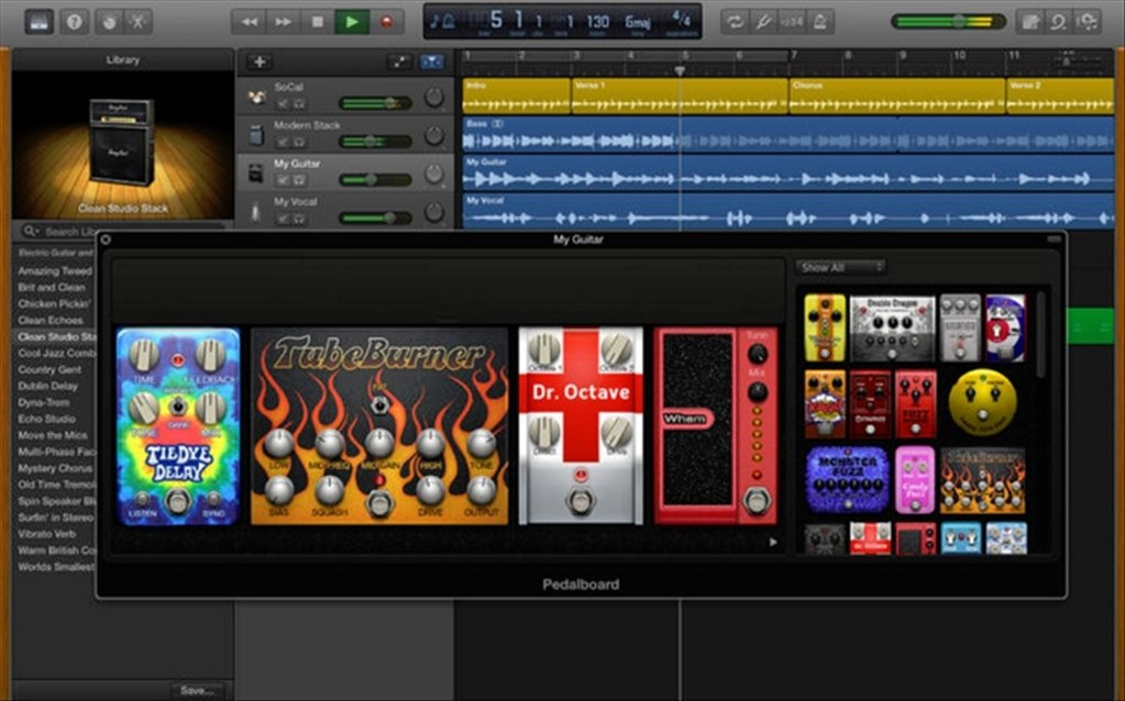 Download GarageBand 102 Mac  Gratis in Italiano