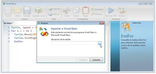 Microsoft Small Basic 1.2 - Download for PC Free