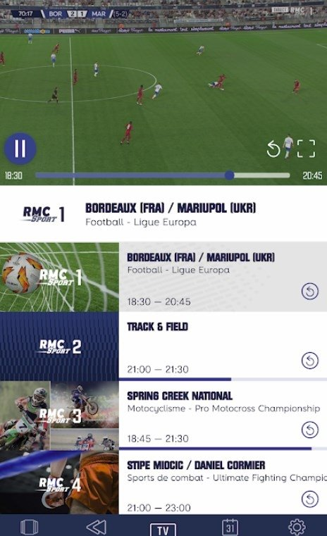 Rmc Sport 3 Streaming Gratuit : sport, streaming, gratuit, Sport, 7.2.1, Download, Android