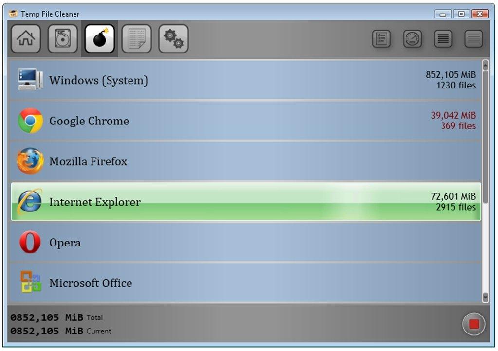 Resultado de imagen de Easy Temp File Cleaner