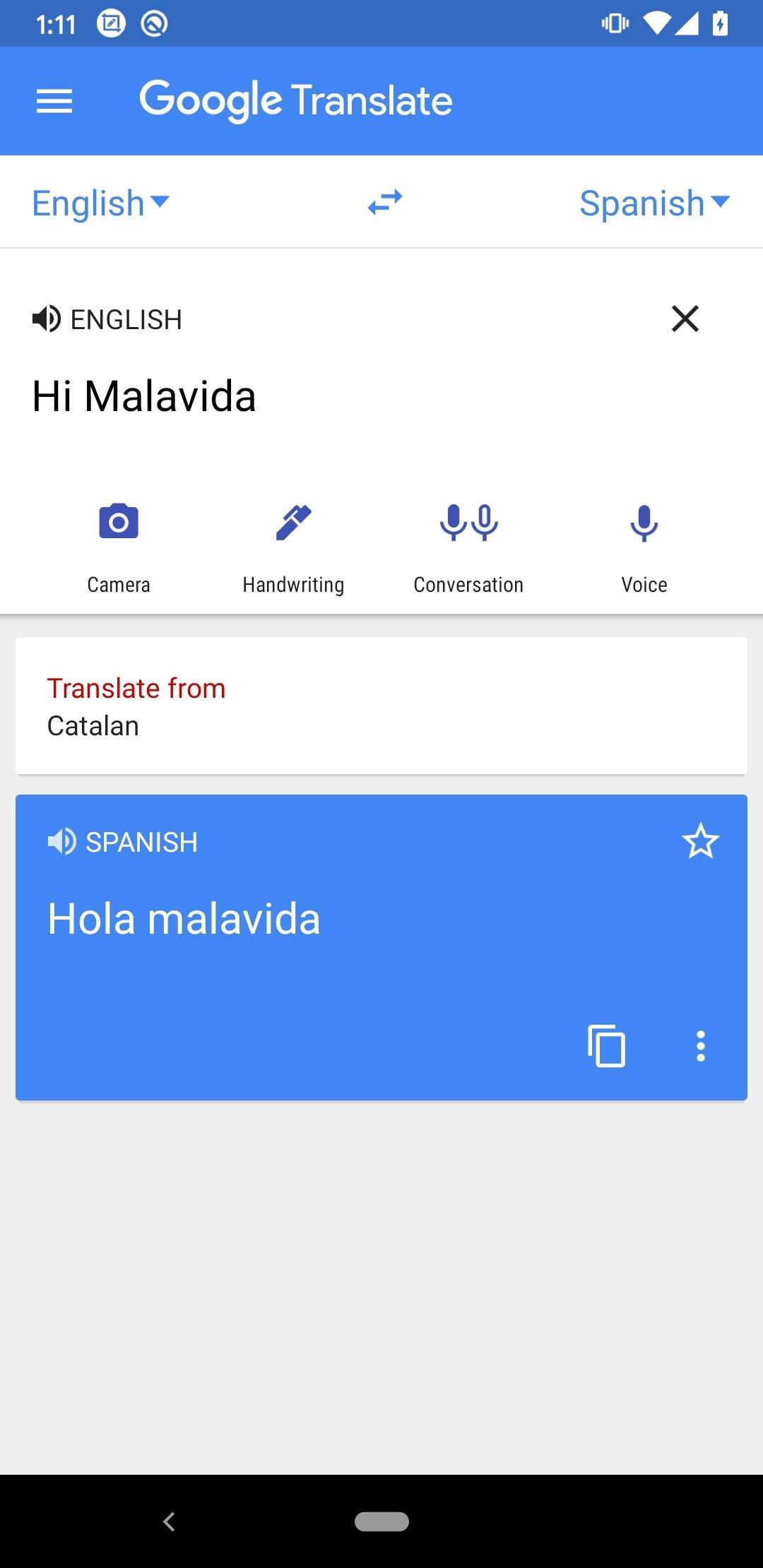 Google Translate 6.11.0.06.325960053 - Télécharger pour Android APK Gratuitement