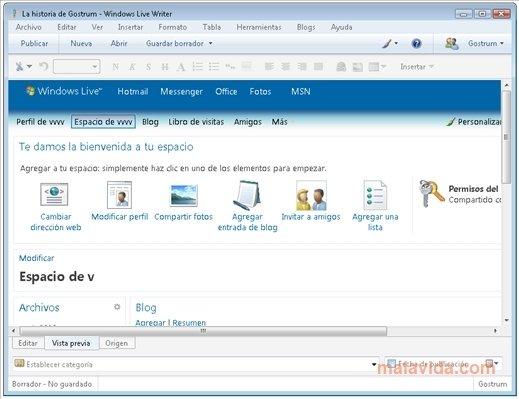 Windows Live Writer 2011 - PC用ダウンロード無料