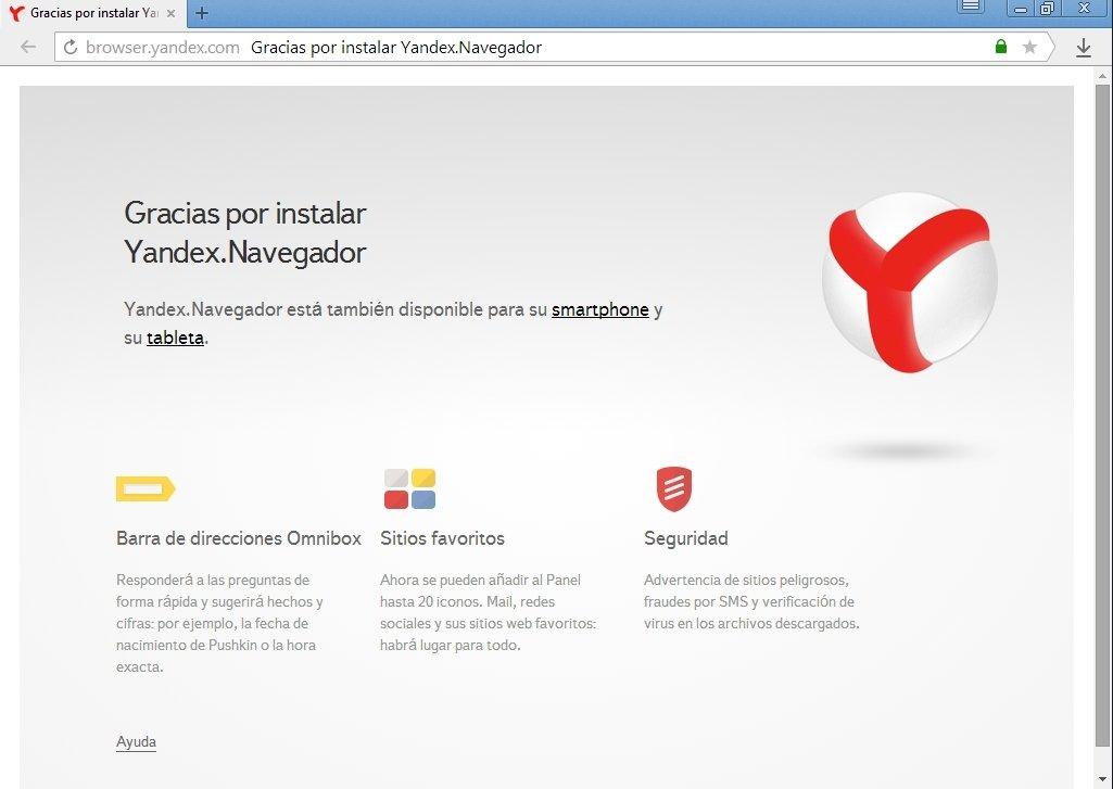 Yandex Browser 18.10.0 - Descargar para PC Gratis