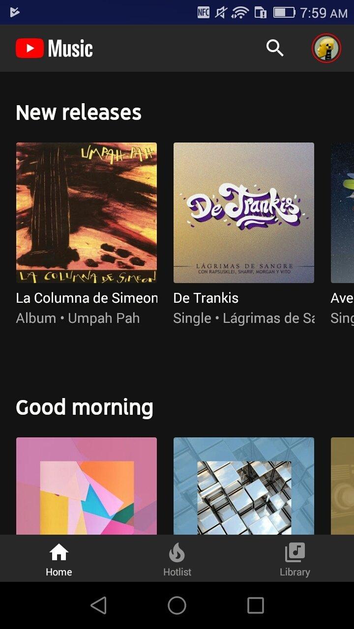 YouTube Music 3.39.52 - Descargar para Android APK Gratis