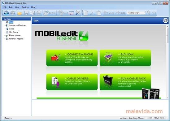 MOBILedit! Forensic Lite 5.5.0.1148
