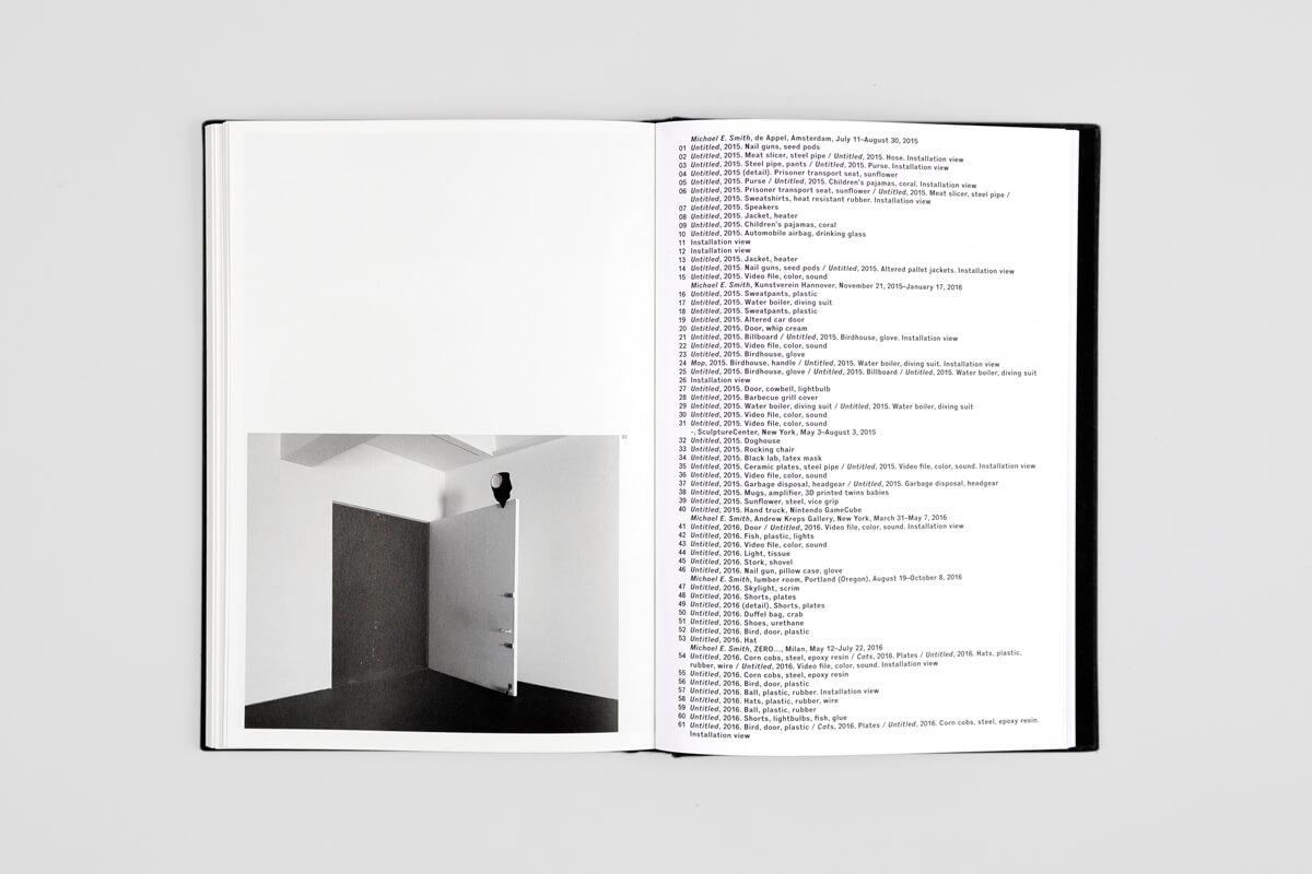 Ausstellungskatalog Exhibition Catalogue Michael E Smith