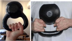 Resultado de imagen de agarre con kettlebell