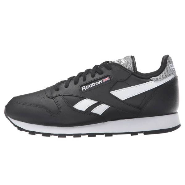 Reebok Classic Leather Pop Black White Shoe - Billion