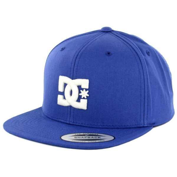 DC Shoes Snappy Snapback Hat Summer Blue Billion