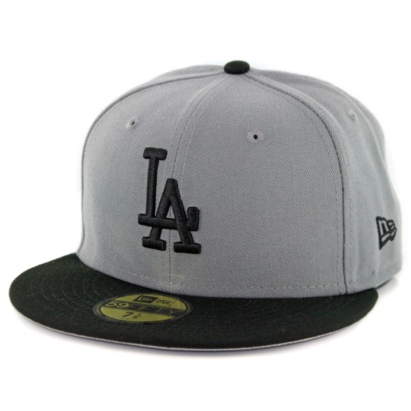 Era 59fifty Los Angeles Dodgers Fitted Hat Storm Grey
