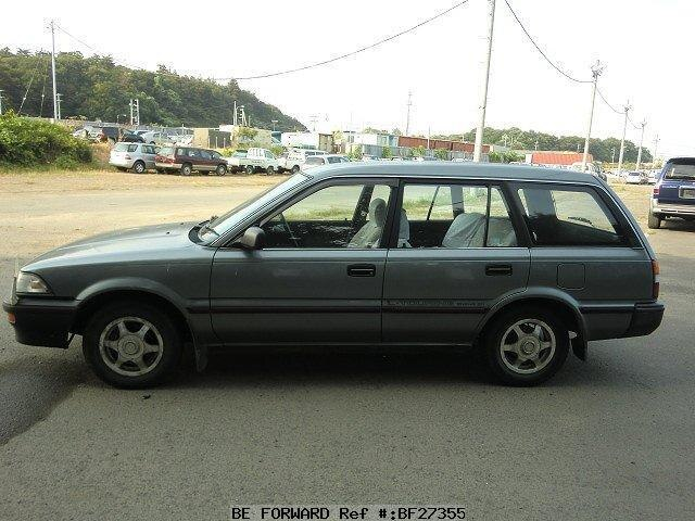Used 1990 TOYOTA COROLLA WAGON L TOURINGEAE91G for Sale