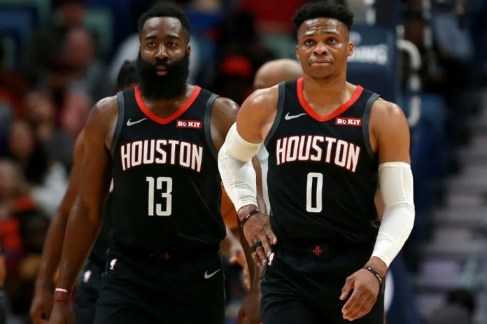 Russell Westbrook with James Harden: A Shining Partnership or Overshadowed  Individuals? - EssentiallySports