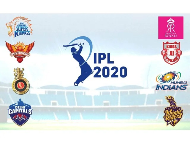 IPL 2020 Schedule Released-Two Matches Every Sunday