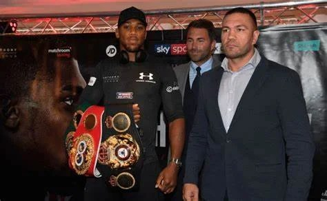 Eddie Hern Announces the Next Fight of Anthony Joshua on June 20