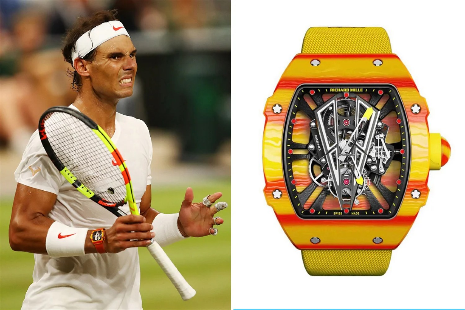 Image result for rafael nadal watch