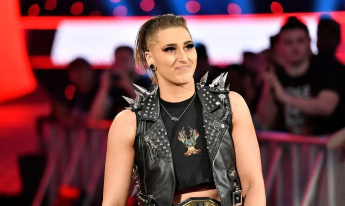 WWE Superstar Rhea Ripley Imitates The Rock- The Rock Reacts – EssentiallySports