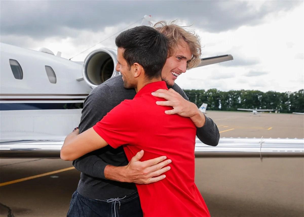 "Photo of ""I Will Never Let You Beat Me Again"" – Novak Djokovic Jokes With Alexander Zverev"