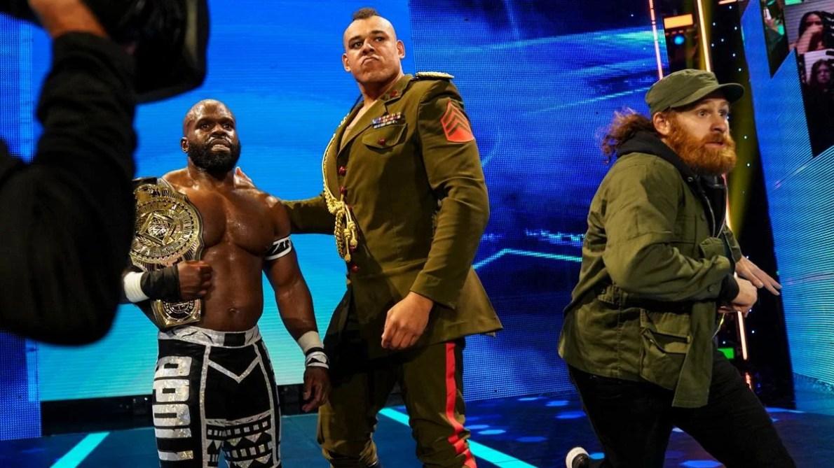 WATCH: 7ft Tall WWE Superstar Azeez Viciously Attacks Sami Zayn Following  His Match Against Kevin Owens - EssentiallySports