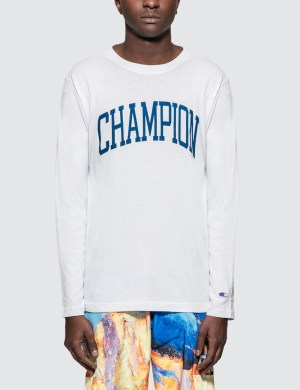 Champion Japan Arch Logo L/S T-Shirt