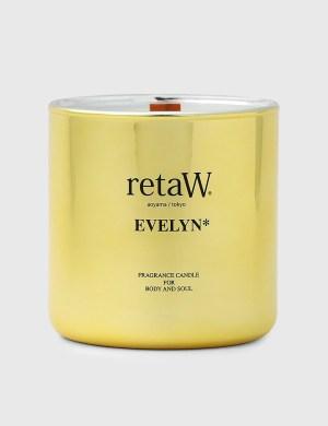 Retaw EVELYN* Metallic Gold Fragrance Candle