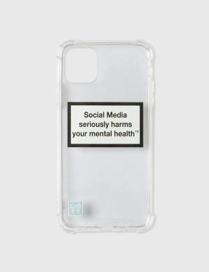 Urban Sophistication Mental Health Warning iPhone Case