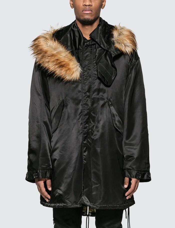 Mastermind World Fishtail Parka Coat