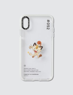 Casetify Meowth 052 Pokdex Day Iphone XS Max Case