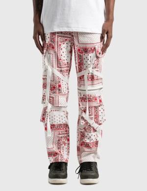 Rogic Paisley Cargo Pants