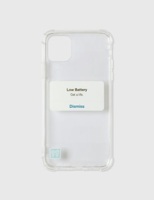 Urban Sophistication Get A Life iPhone Case