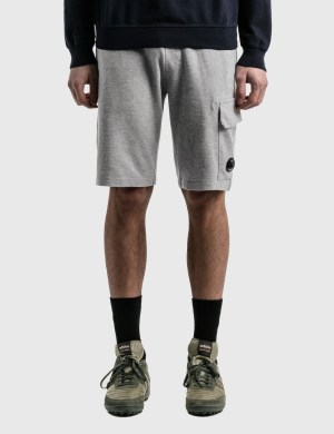 CP Company Lens Pocket Sweat Shorts