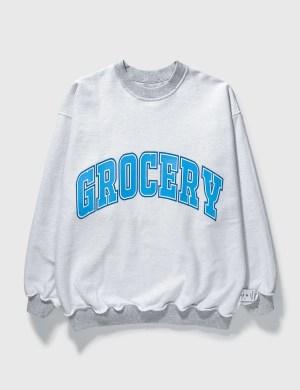 Grocery SW-005 Reversible Blue Sweatshirt