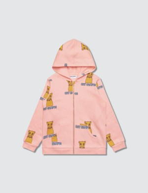Mini Rodini Cat Campus Zip Hood