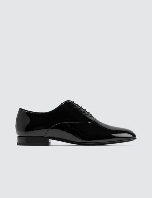 Saint Laurent Smoking Oxford Patent Leather Shoes