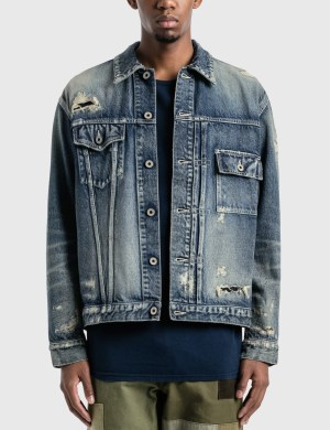 FDMTL 10YR Wash Denim Jacket