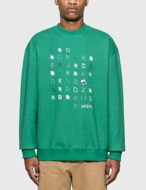 Ader Error Artwork Graphic Sweatshirt