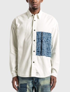 FDMTL Rinse Boro Zip Pocket Shirt