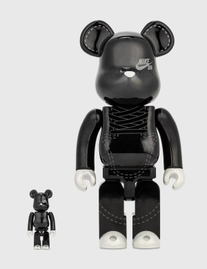Medicom Toy Be@rbrick Nike Sb 2020 Black 100%&400%set